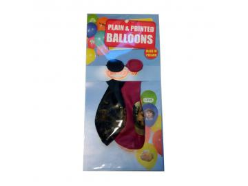 2 Luftballons mit Bildern