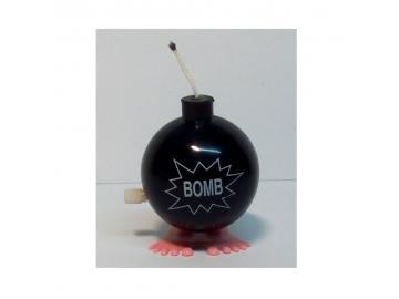 Springende Jux-Bombe schwarz